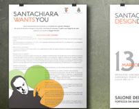 Santachiara Design Day | Uni project | Posters