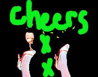 walk walk cheers xxx