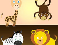 Free Safari Animal Vectors