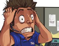 Dreyfous Call Center Stress