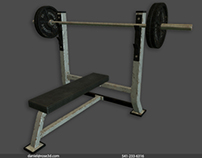 Weight Bench Prop