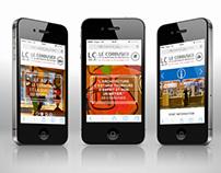 Site mobile LC AU J1