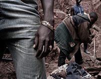 The Gold Rush. Miners in D. R. of Congo - part one