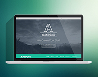 AMPUR Theme - A creative agency portfolio theme