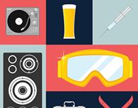PUM GETS DRUNK - Zaprojektowanie logo i plakatu