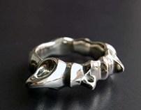 men's ring Dragonish
