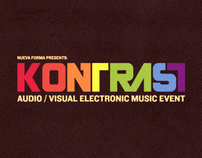 Kontrast - An Audiovisual Event & Creative Social Mixer
