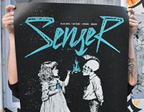 Senser Silkscreen Poster