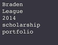 Scholarship Portfolio 2014