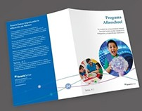Afterschool program brochure