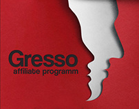 Gresso - affiliate program