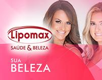 Projeto Gráfico LIPOMAX Saude & Beleza