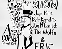 What's the deal with Comedy Show Poster