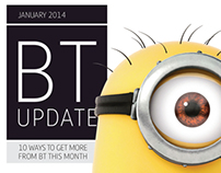 BT Vision Update Magazine