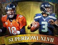 Superbowl XLVII poster