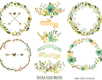 Natural Floral Wreaths