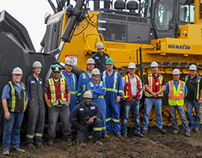 Komatsu Bulldozer Rebuild