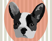 Dogs Say Woof Notecard Series