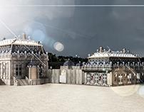 Trianon de Porcelaine, 3d rebuilt (destroyed in 1687)