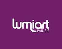 Branding Lumiart - Paineis