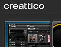 Creattico Web Site
