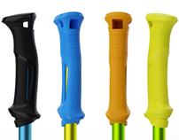 Ski poles handle