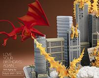 Kaya Skin Clinic - Doomsday Cakes - Dragons