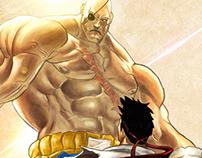 Ryu y Sagat