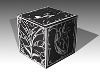 In Hydria: box mockup