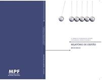 Livro - Relatório de Gestão MPF