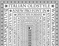 Italian Oldstyle Pro font
