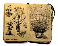 pocket sketchbook selection 1