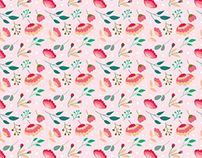 Floral patterns - Designed for Freepik