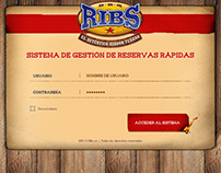 Ribs - Quick booking App