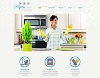 Web Design | Perfeita Clean