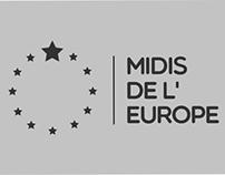 MIDIS DE L' EUROPE LOGO