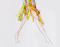Fashion Sketches & Draping