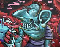 Graffiti walls 2013