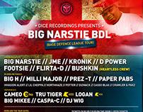Big Narstie's BDL Tour