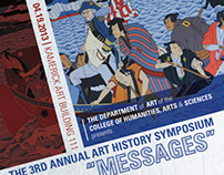 "3rd Annual Art History Symposium - ""Messages"""
