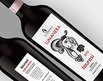 Taurasi - wine label