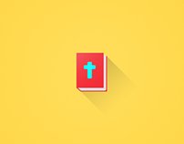 Holy Bible | Flat Design Icon