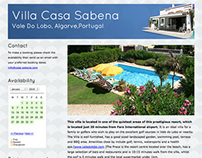 Villa Casa Sabena website