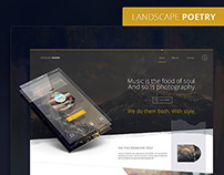 LandscapePoetry Web UI