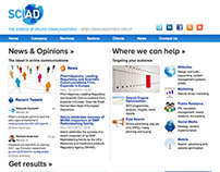 Sciad website
