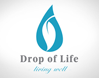 Drop of Life Branding and Web design.