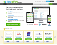 iLike Offers UK Designed and Developed by iLead Digital