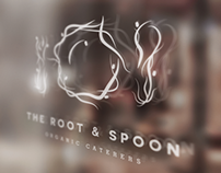 """The Root & Spoon"" Logo + Branding"