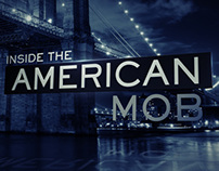 Inside the American Mob - Logo Design and Title open.