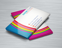 different type business card
